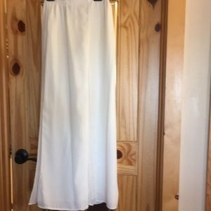 Papell evening pants/ skirt